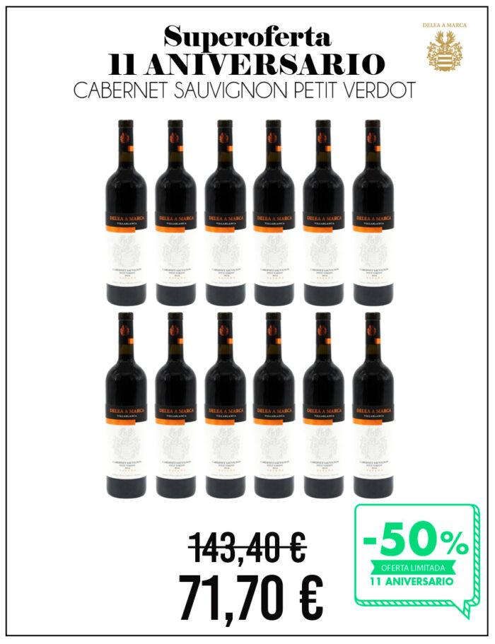 Caja de Cabernet Sauvignon Petit Verdot